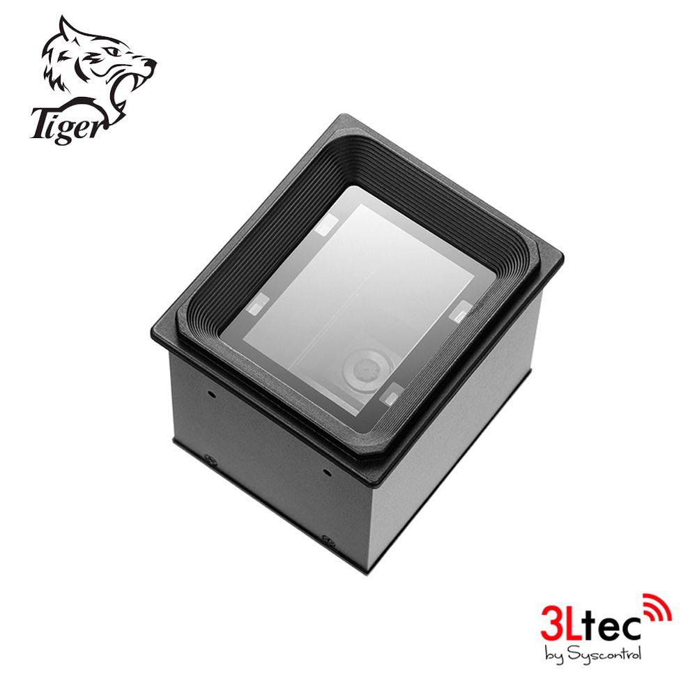 Leitor de Código de Barras 1D/2D TI 8500 HC, TIGER, Semi Fixo ou para Embutir com Cabo USB Incluso