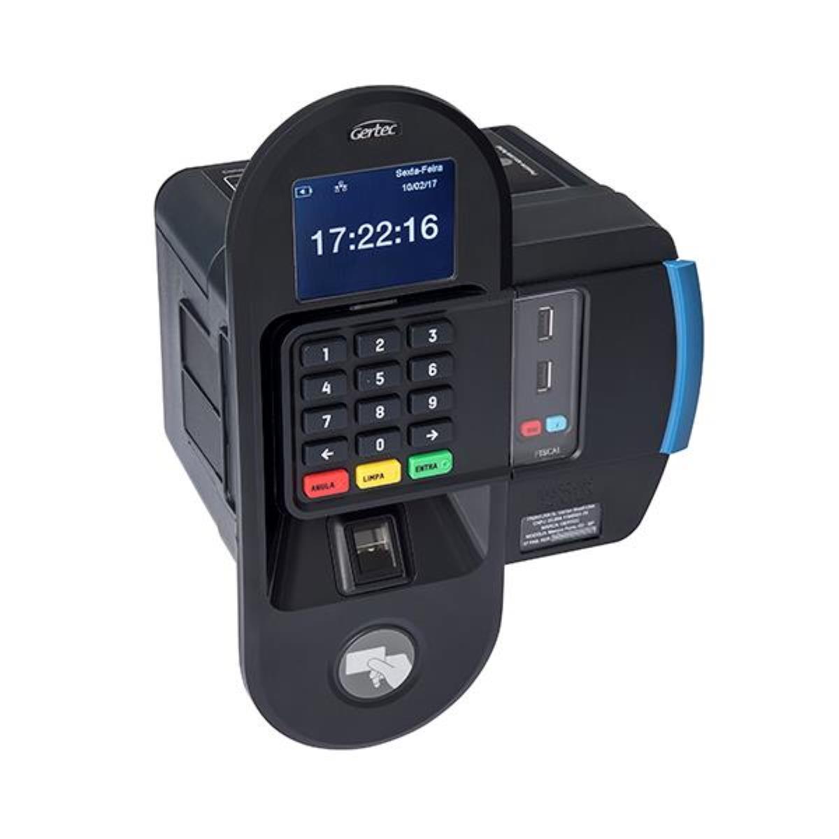 Relógio de Ponto Biométrico MARQUE PONTO G3 - Gertec
