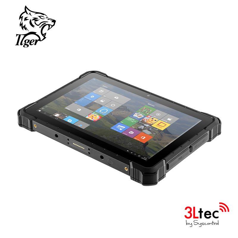 Tablet Industrial TI-11W, Com Leitor de Código de Barras 1D/2D, Windows 10, RAM de 4GB, SSD 64GB, WI-FI, Bluetooth 4.0 e Camera de 5 e 2 MP
