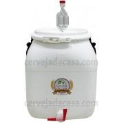 Bombona Fermentadora Completa (com Torneira Redutora de Sedimentos, Airlock e Anel de Silicone)