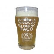 """Copo Half Pint """"Eu bebo a cerveja que eu mesmo faço"""" 285ml"""