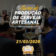Curso de Produção de  Cerveja Artesanal  21/03/2020 (presencial)