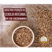 Curso para Produção de Cerveja Artesanal 09/12/2017 (presencial)