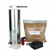 Defumador a Frio em Inox 300mm (Carnes, queijos, peixes, etc.)