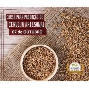 Curso para Produção de Cerveja Artesanal 07/10/2017 (presencial)