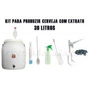 Kit de Equipamentos para Produção de Cerveja com Extrato - até 30 Litros