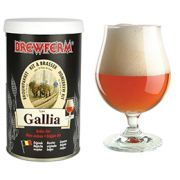 Kit de Extrato Gallia Belgian Ale - Brewferm 12 Litros