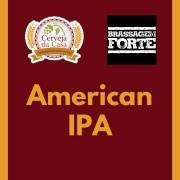 Kit de Insumos BRASSAGEM FORTE American IPA (Opções de 10 a 60L)