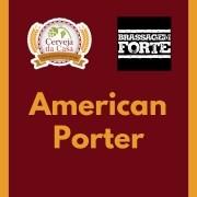 Kit de Insumos BRASSAGEM FORTE American Porter (Opções de 10 a 60L)