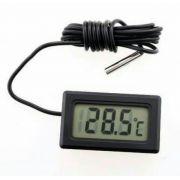 Termômetro Digital Lcd Com Sensor Externo