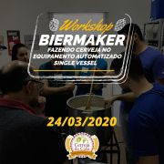 Workshop BierMaker - Fazendo cerveja no equipamento automatizado single vessel  24/03/2020 (presencial)