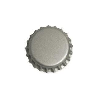 Tampinha para Garrafa - Cor Prata (pry-off)  - Cerveja da Casa