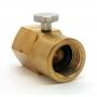 Válvula para Enchimento de Cilindros de CO2 (Padrão Sodastream)