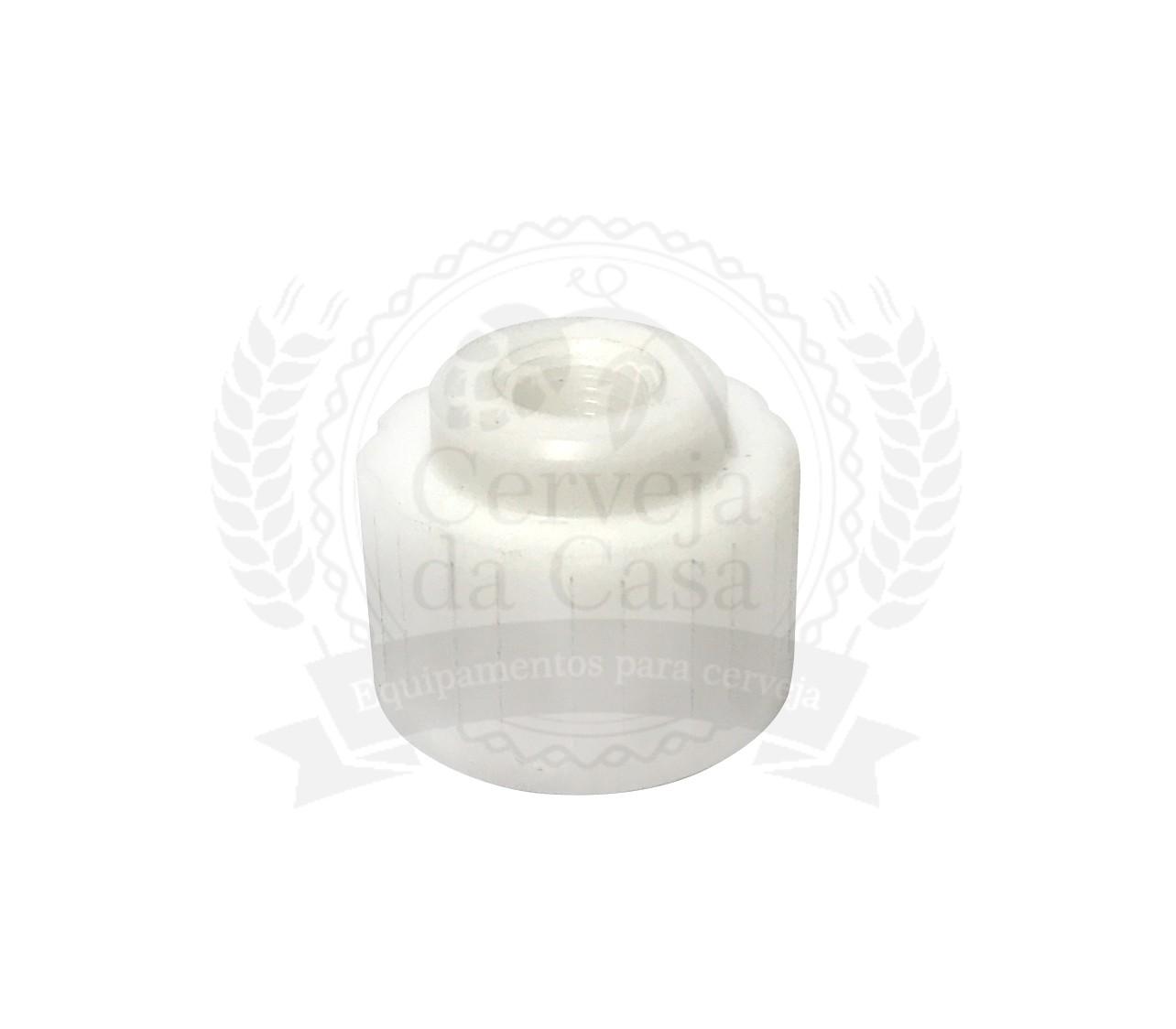 Adaptador para Manômetro para Garrafa Com Rosca