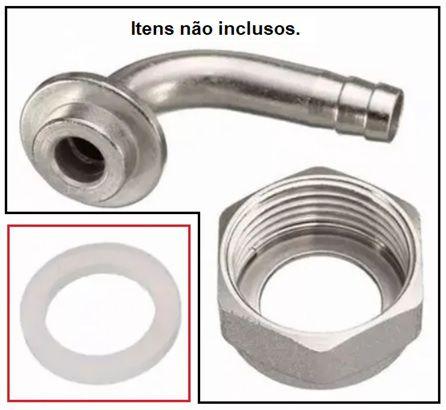 """Anel de Vedação (o'ring) em Silicone Atóxico 5/8"""""""