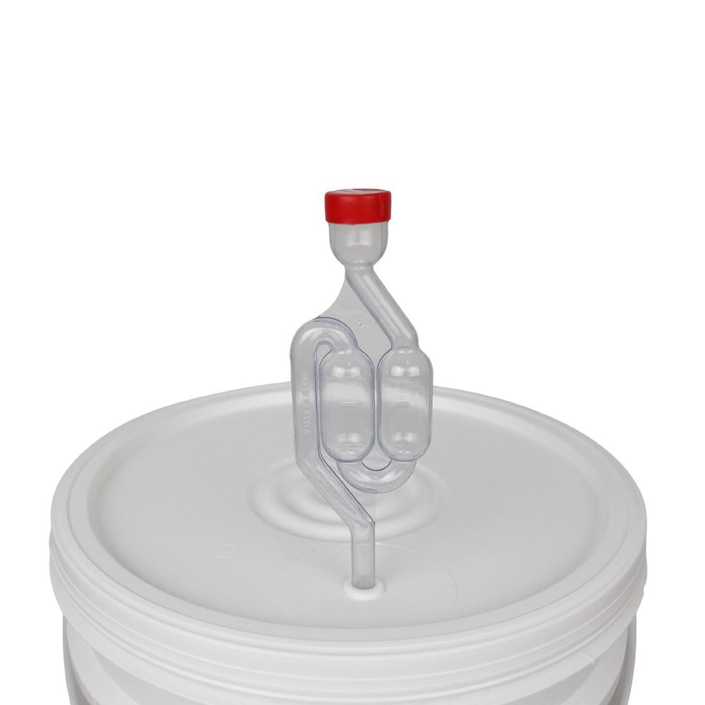 Balde Fermentador 22L com Torneira, Airlock e Anel de Silicone