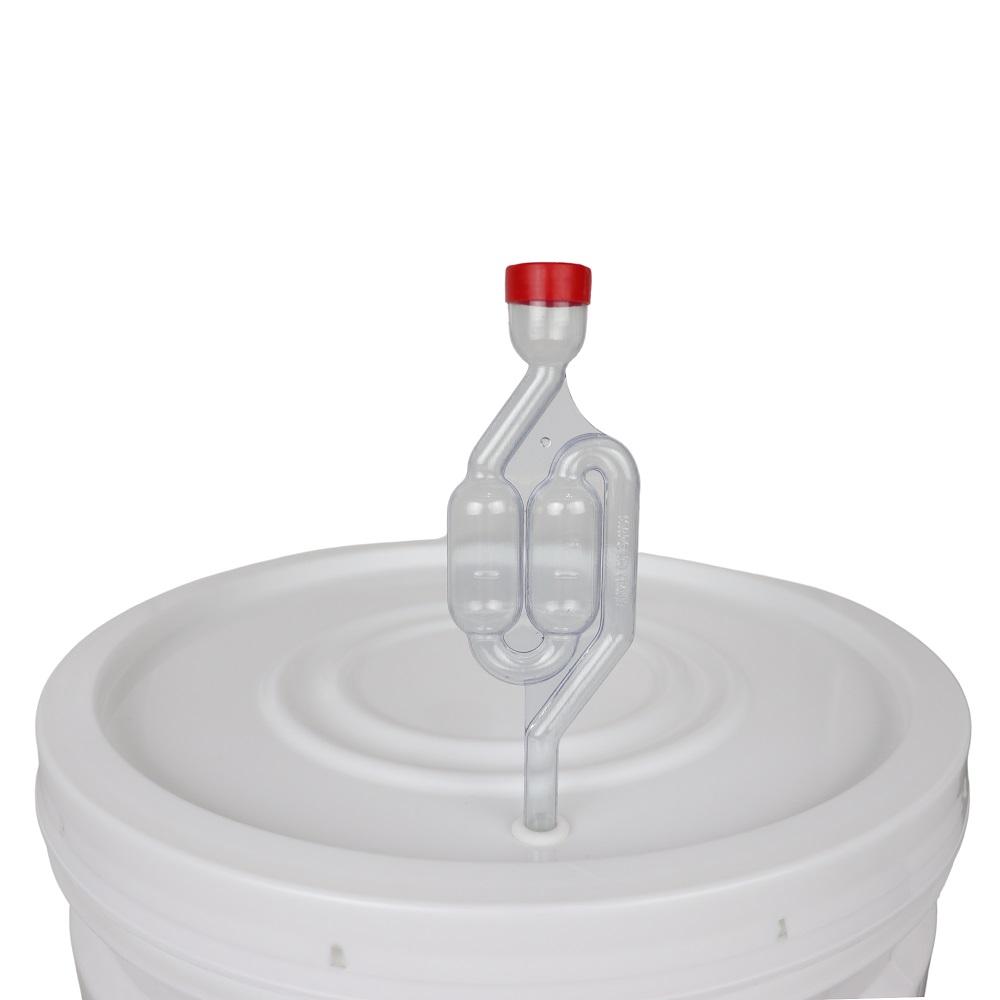 Balde Fermentador 30L com Torneira, Airlock e Anel de Silicone