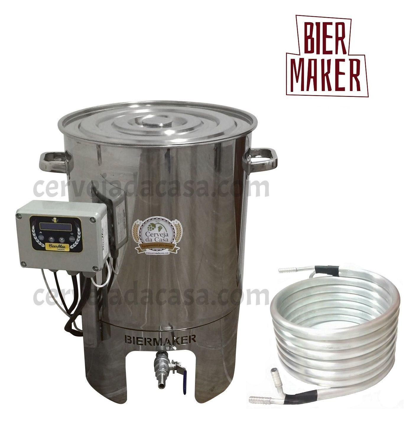 BierMaker 20 litros - Equipamento em Inox Automatizado Método Single Vessel