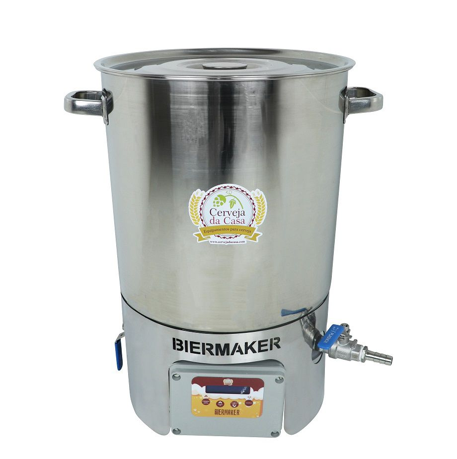 BierMaker 30 litros - Equipamento em Inox Automatizado Método Single Vessel