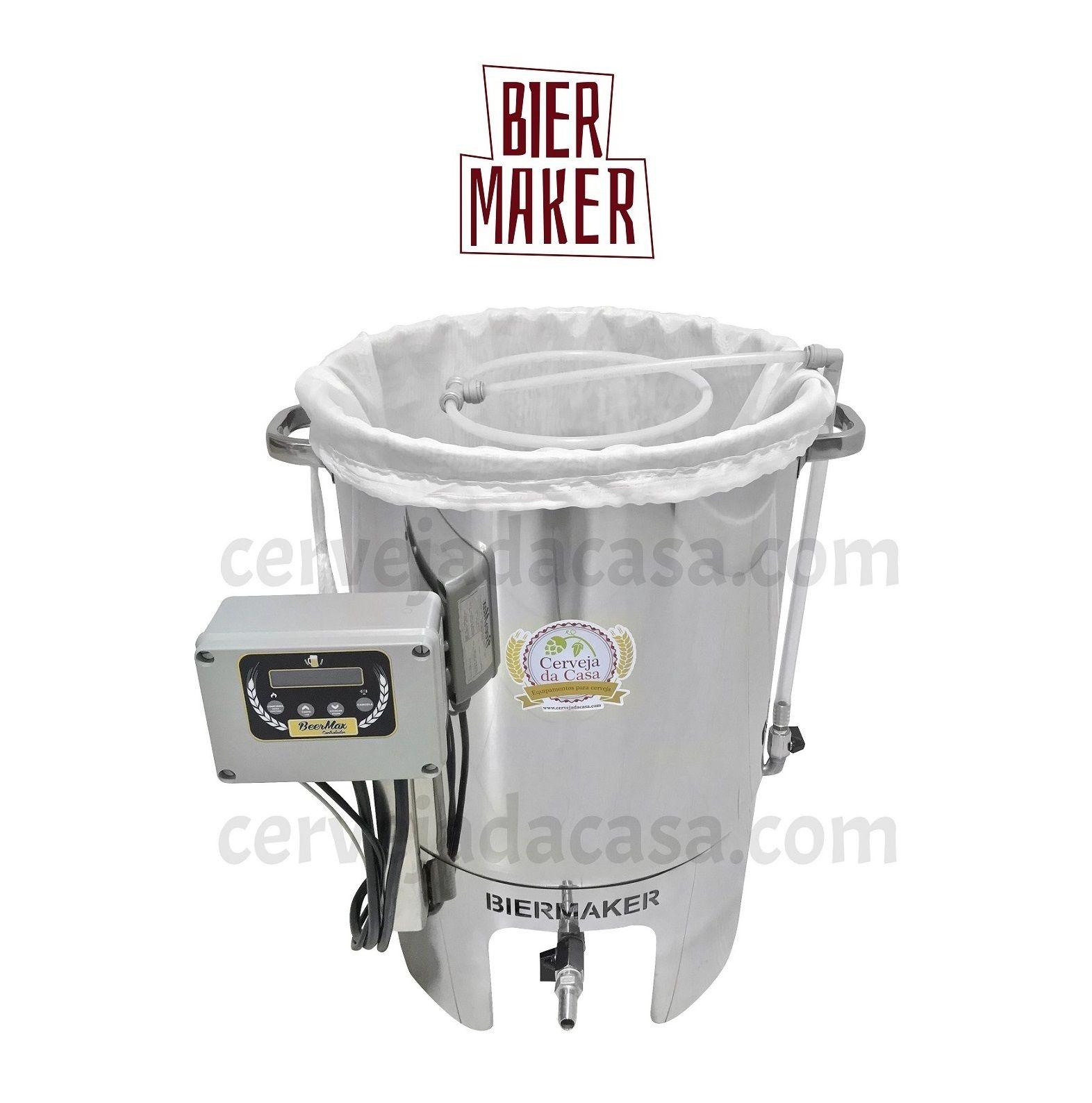 BierMaker  BIAB - Equipamento em Inox Automatizado Método Brew in a Bag (Opções de 10 a 25L)