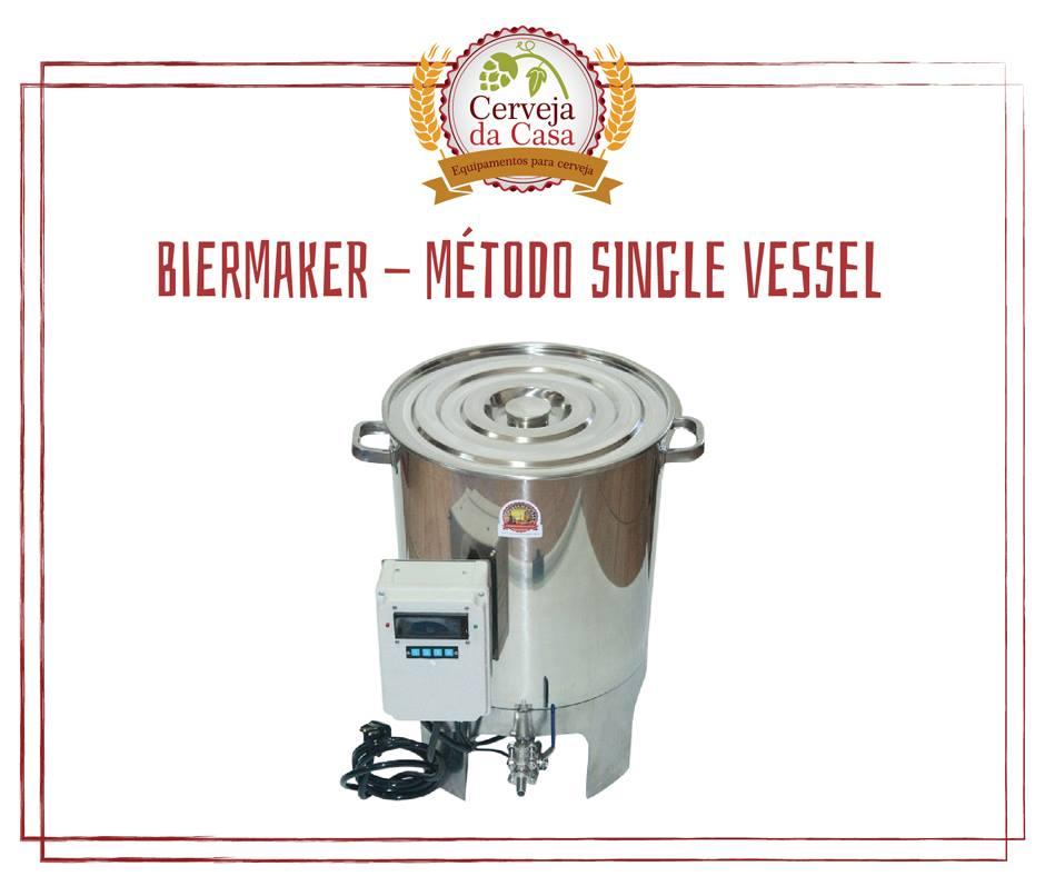 BierMaker - Equipamento em Inox Automatizado Método Single Vessel