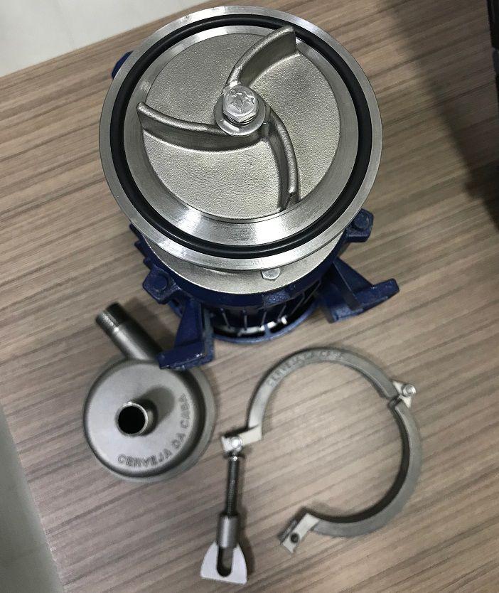 Bomba Sanitária 1/2cv Inox 304 (Bivolt)