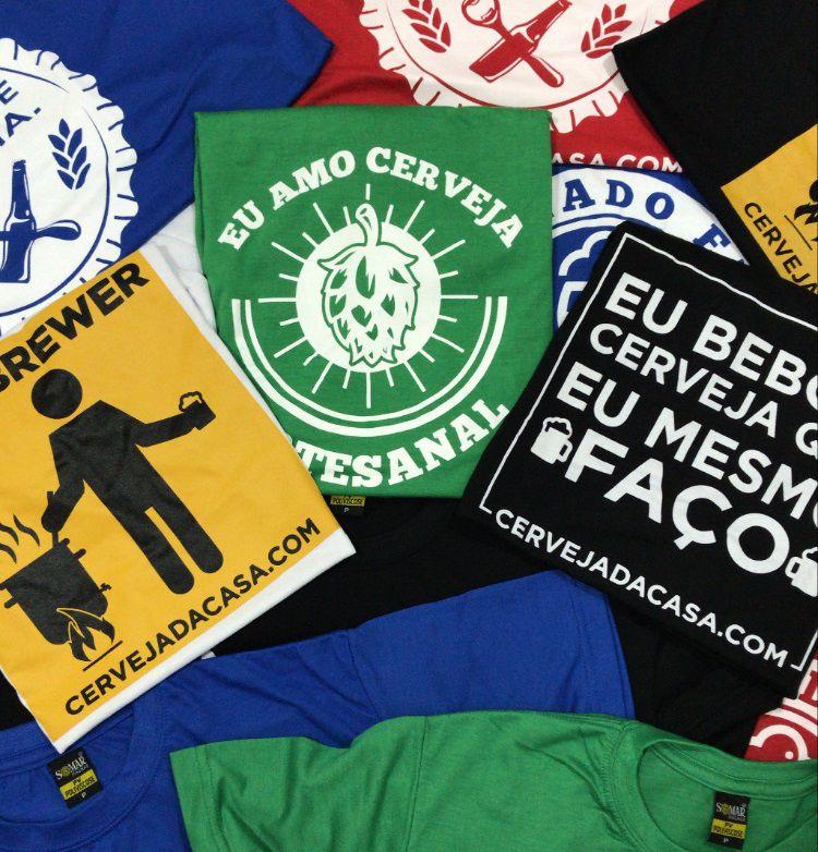 x Camiseta Cervejeira - BRINDE x