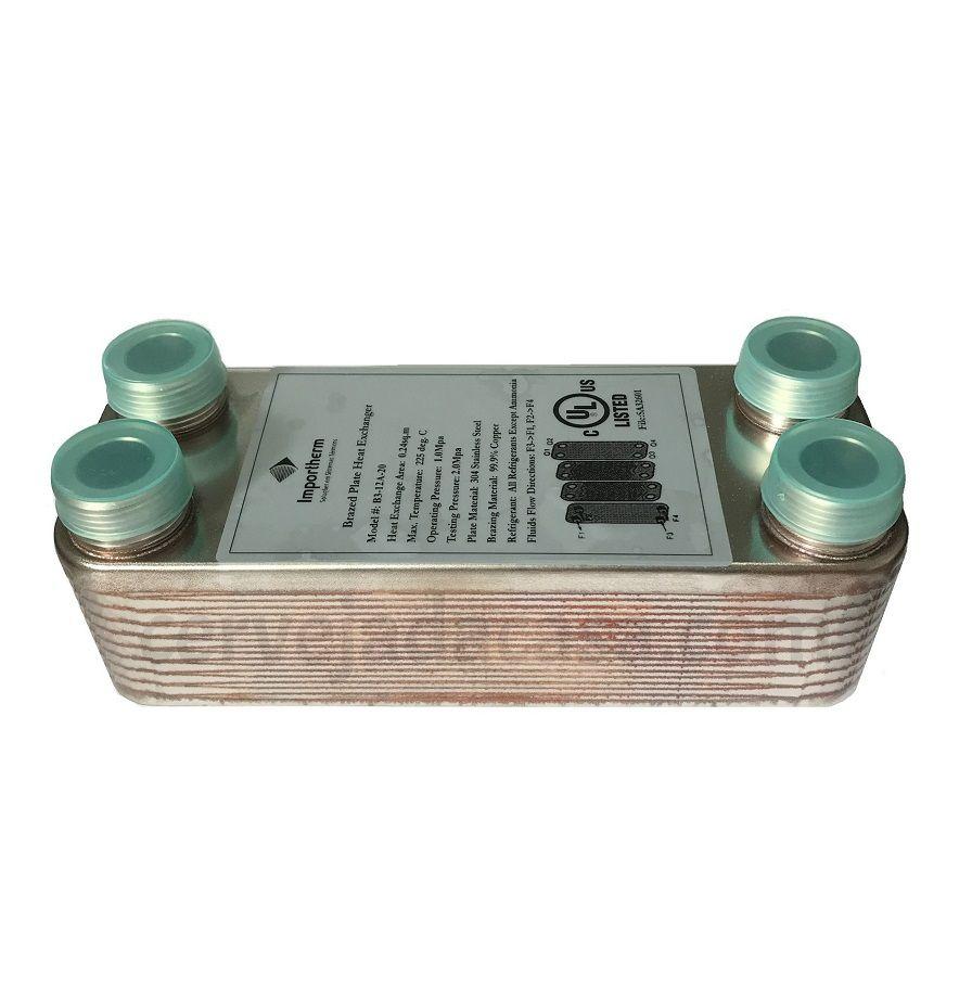 Chiller Trocador de Calor de Placas em Inox