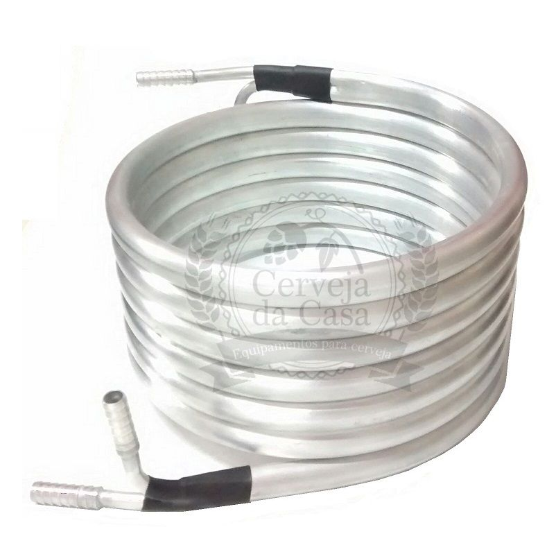 Chiller Tubular de Contrafluxo em Alumínio