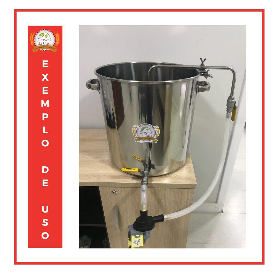 Chuveiro Sparge em Inox 304 (diâmetro regulável)