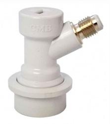 "Conector Ball-lock para Gás Rosca 1/4""  - Cerveja da Casa"