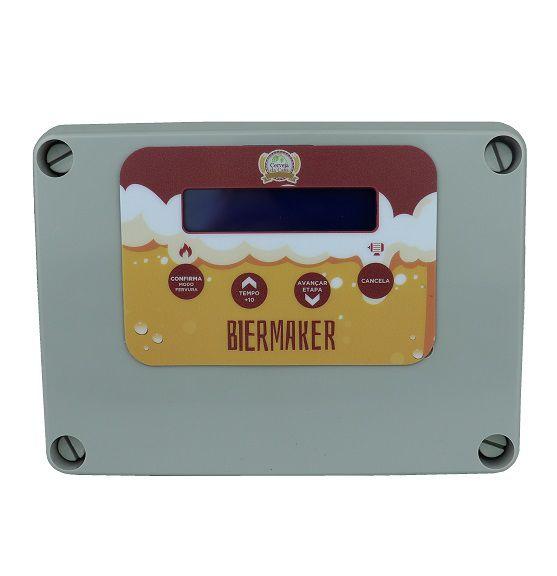 Controlador para Automatização de Brassagem Beermax - Visor personalizado Biermaker