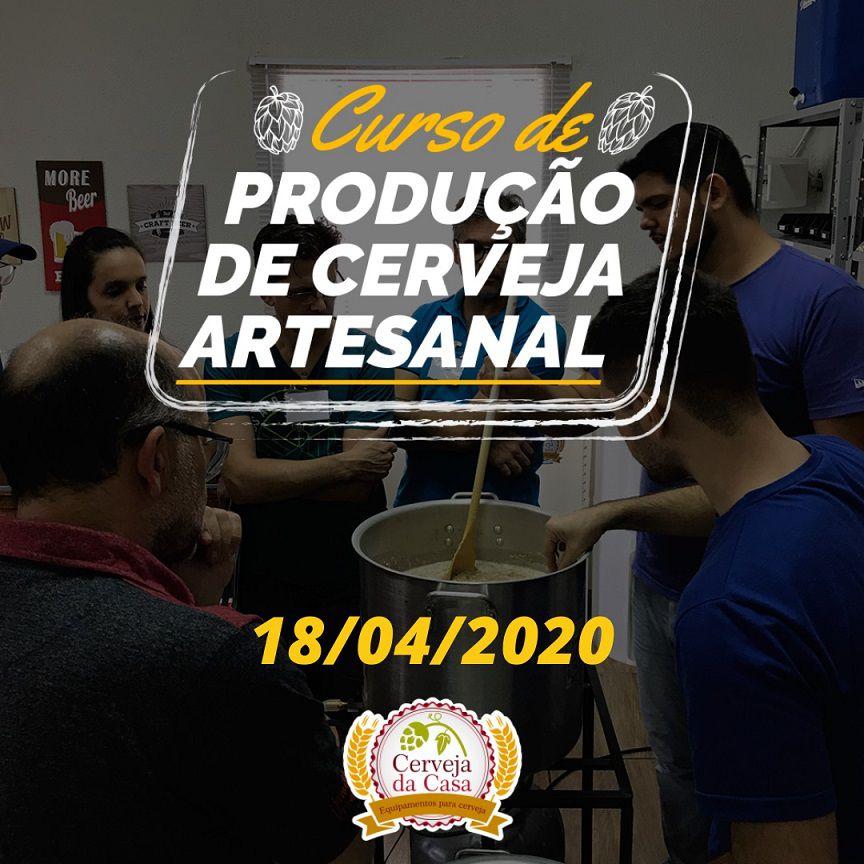 Curso de Produção de Cerveja Artesanal  18/04/2020 (presencial)