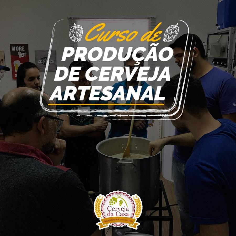 Curso de Produção de  Cerveja Artesanal  21/08/2021 (presencial)