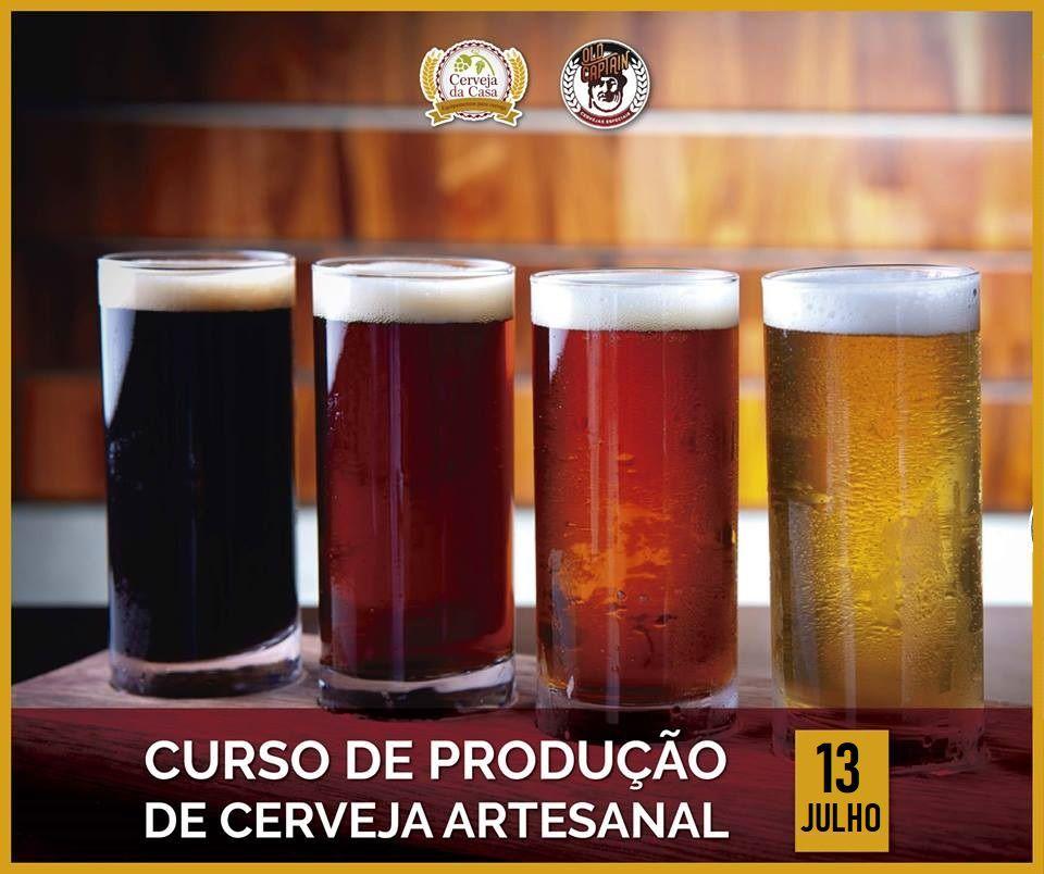 Curso para Produção de Cerveja Artesanal 13/07/2019 (presencial)