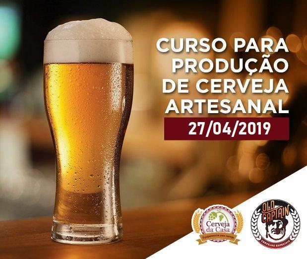 Curso para Produção de Cerveja Artesanal 27/04/2019 (presencial)
