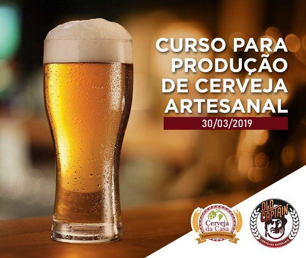 Curso para Produção de Cerveja Artesanal 30/03/2019 (presencial)