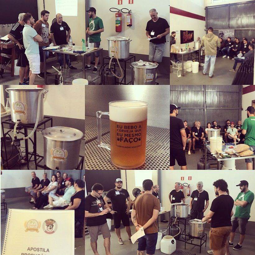 Curso para Produção de Cerveja Artesanal 30/03/2019 (presencial)  - Cerveja da Casa