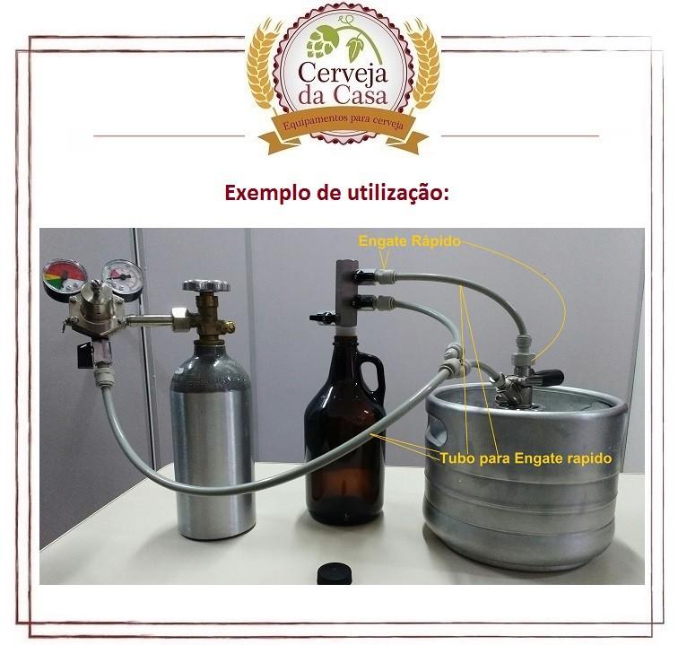 Enchedor de Contrapressão (com Engates Rápidos)  - Cerveja da Casa