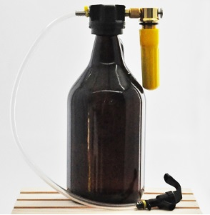 Extrator de Cerveja em Contrapressão para Growler
