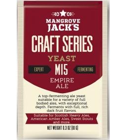 Fermento M15 Empire Ale - Mangrove Jacks  - Cerveja da Casa