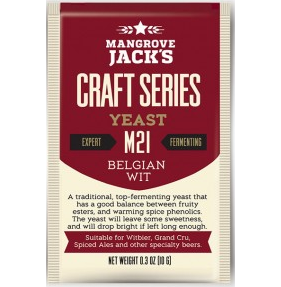 Fermento M21 Belgian Wit - Mangrove Jacks  - Cerveja da Casa