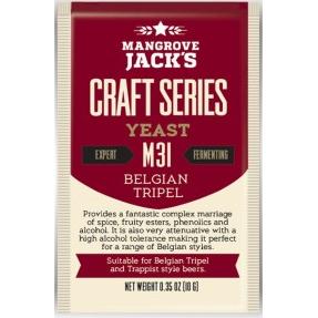 Fermento M31 Belgian Tripel - Mangrove Jacks  - Cerveja da Casa