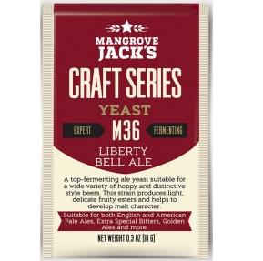 Fermento M36 Liberty Bell Ale - Mangrove Jacks  - Cerveja da Casa