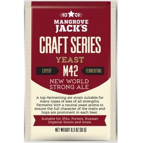 Fermento M42 New World Strong Ale - Mangrove Jacks  - Cerveja da Casa