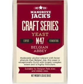 Fermento M47 Belgian Abbey - Mangrove Jacks  - Cerveja da Casa