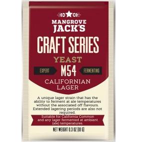 Fermento M54 Californian Lager - Mangrove Jacks  - Cerveja da Casa