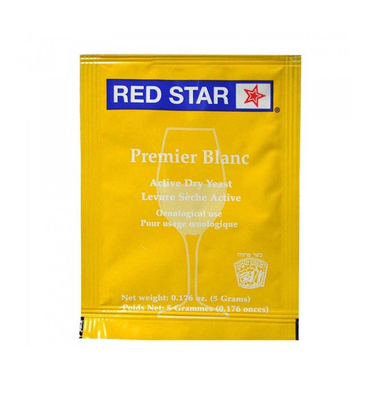 Fermento Red Star Premier Blanc (Pasteur Champagne) - 5g