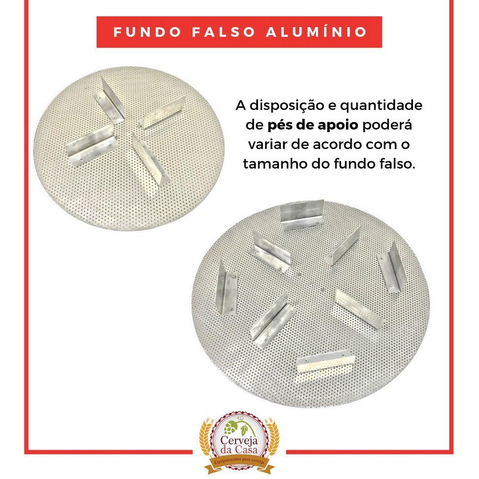 Fundo Falso Alumínio Cerveja Artesanal