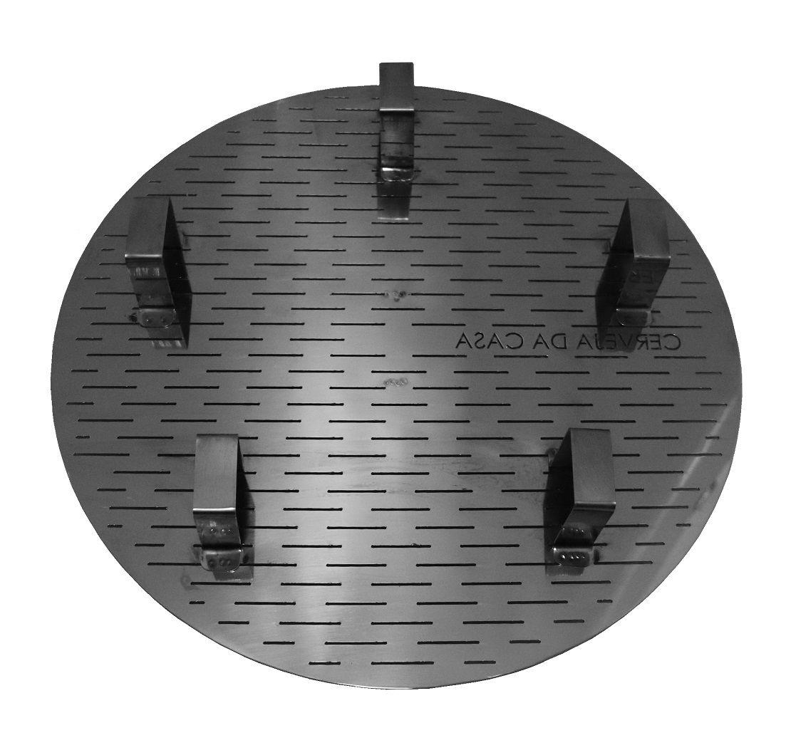 Fundo Falso em Inox 304 (corte a laser)